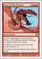 FORM OF THE DRAGON Ninth Edition MTG Red Enchantment RARE