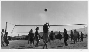 Photo:Volley Ball game / photograph by Ansel Adams. 7888