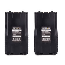 2PCS 1000mAh Li-Ion Akkus 3.7V Battery für Retevis RT7 Walkie Talkie