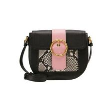 Valentino RAGUSA Across Body Leather Handbag VBP24I02P - Black/Multi