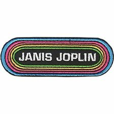 Janis Joplin - Rainbow - Embroidered Patch - Brand New - Music Band 4497