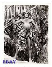 Walter Chiari barechested The Little Hut VINTAGE Photo