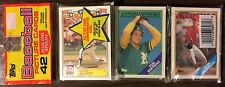 1988 TOPPS Rack Pack ROGER CLEMENS (Back) MIKE SCOTT  A/S Card (TOP) G7105118