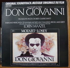 LOSEY/MOZART/MAAZEL DON GIOVANNI OST FRENCH LP CBS 1979