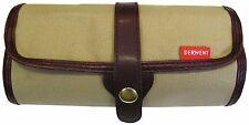 Derwent Pencil Wrap - Canvas Travel Roll Case for Artists (Empty)