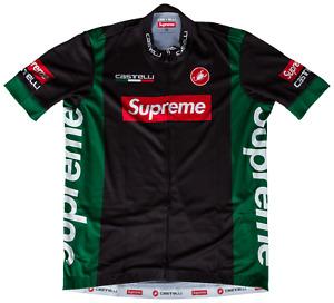 2019 Supreme Castelli Cycling Jersey Black Sz Medium