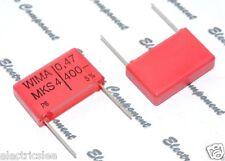 5pcs - WIMA MKS4 0.47uF (0.47µF 0,47uF 470nF) 400V 5% pich:22.5mm Capacitor - L