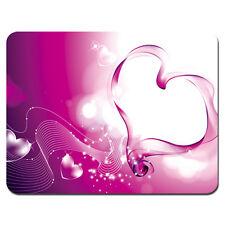 Soft Mouse Pad Neoprene Laptop PC MousePad Heart Pink