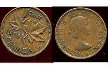 CANADA 1 cent  1961