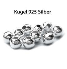 20 x Kugel Ø 3 mm 925 Silber Schmuckzubehör Schmuck basteln Furnituren