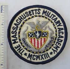 ORIGINAL Vintage MASSACHUSETTS MILITARY ACADEMY ROTC PATCH
