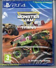 MONSTER JAM STEEL TITANS  'New & Sealed'  *PS4(Four)*