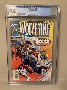 Marvel Wolverine #147 CGC 9.6 NM+