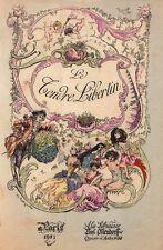 Tendre libertin galanterie curiosa léger Ollendorff 1901 illustrations Radiguet