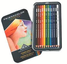 Sanford Prismacolor Premier Colored Pencils set of 12 Brand New DENTED TIN