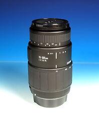 Sigma 70-300mm/4-5.6 AF DL Objektiv lens objectif für Canon EOS / Analog - 90671