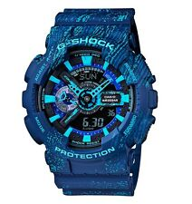 Casio G-Shock * GA110TX-2A Anadigi Graffiti Blue Gshock Watch COD PayPal