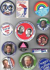 1992 - 2007 18 UNUSUAL Al GORE pin President Vice CAMPAIGN Nobel Prize etc