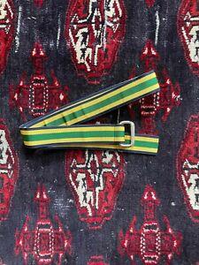 "Vintage Polo Ralph Lauren Grosgrain Ribbon Belt Size M 38.5"" Made in USA"
