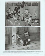 Disney Silly Symphonies (R1983) 8x10 black & white photo #205