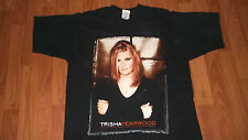 Vintage 90's Country Rock Artist TRISHA YEARWOOD T-Shirt Large music mens womens