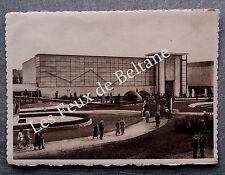EXPOSITION LIEGE 1939 PALAIS SECTION BELGE       postcard