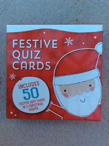 Festive Quiz Card Games - Christmas fun