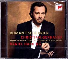 Christian GERHAHER: ROMANTISCHE ARIEN Wagner Schubert Weber CD Daniel HARDING