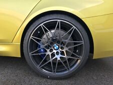 "GENUINE BMW 666M SPORT COMPETITION 20"" INCH ALLOY WHEELS X4,M2 M3 M4 F80 F32 F87"