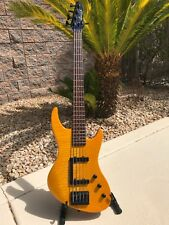1987 Guild Pilot 5 string bass guitar SB605 Made in USA flame maple EMGs