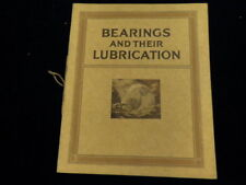 1927 Vacuum Oil Co Gargoyle Vtg Brochure Bearings and their Lubrication 42 Pages