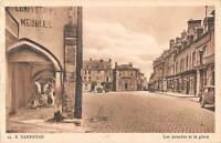 B106818 France Carentan Les Arcades et la Place