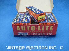 1955, 1956, 1957 PLYMOUTH (V8) - NOS Vintage Auto-Lite Spark Plug - ($4.95/ea)