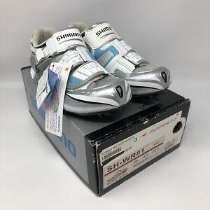 SHIMANO Women's SH-WR81 SPD-SL Carbon Road Cycling Shoes EU 38 US 6.5 MSRP $300