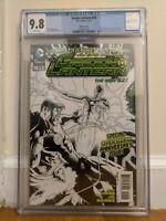 Green Lantern #20 CGC 9.8 Sketch Rare 1st Jessica Cruz