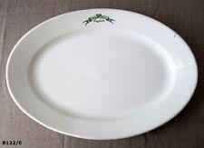 """Grand plat de service en porcelaine """"C.P. &Co"""" Hôtel Terminus à Engelberg"""
