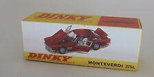 Repro Box Dinky Nr.190 Monteverdi 375L