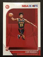 2019-20 NBA Hoops Cam Reddish ROOKIE Atlanta Hawks RC #207 Free Shipping
