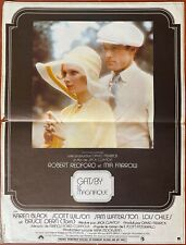 Affiche cinéma Gatsby le magnifique Robert Redford (1974)