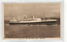 NEW ZEALAND SHIPPING.CO-RANGITANE .PRINTED POSTCARD.SEE PICTURE