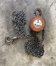 Cm 10 Chain Hoist 1 Ton