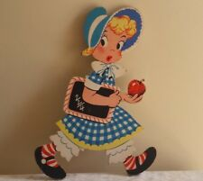 Vintage 50s Mother Goose Mary Had A Little Lamb The Dolly Toy Company Nursery