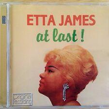 NEW SEALED - ETTA JAMES - AT LAST - Jazz Blues Soul R&B Pop Music CD Album