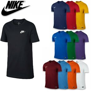 Boys Nike T Shirts Tops Short Sleeve Kids Junior Tee Age 7 -14 xmas