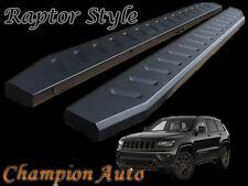Jeep Grand Cherokee Side Steps 2011-2019 Black Powder Coated Steel (Raptor)