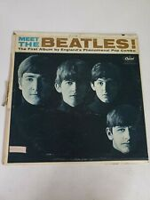 Vintage Vinyl Meet The Beatles LP Record Album Jj4c