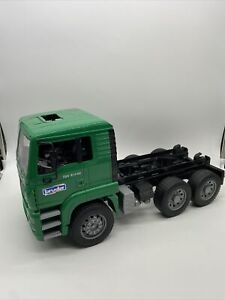 Bruder Toys Garbage Truck Rear Loader Green