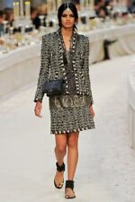 12A Rare Chanel Paris Bombay Metallic Fantasy Tweed Jacket Blazer 40
