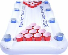GoPong Pool Lounge Floating Beer Pong Table Inflatable