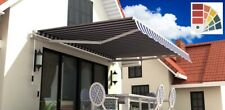 SCHARTEC Gelenkarm Markise Alu Gelenkarmmarkise Sonnenschutz 3m 350cm 250x200